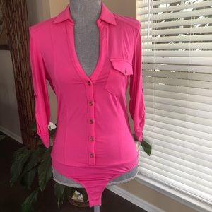 Bebe bodysuit shirt